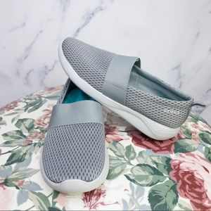 Crocs | Lite Ride Mesh Slip-On | Grey | Sz 8